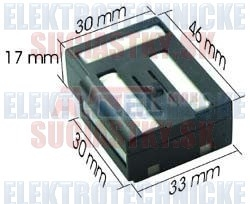 LED  20mm modra    250mCd       - DLC26PBD