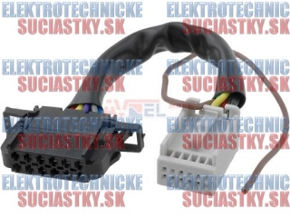 CAR K?bel prepojovac? CD VW-Audi - Quadlock 12pin